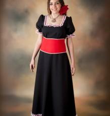 Vestido con Fajín, Modelo Ana  Ref.15