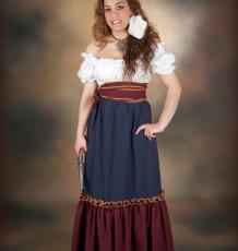 Vestido Época Señora  Ref.898