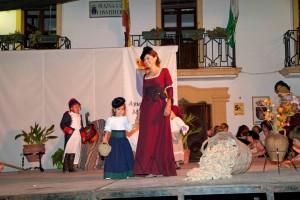 Diseños y Complementos de Carmen Astete, en Pasarela de la Semana Cultural de Montejaque