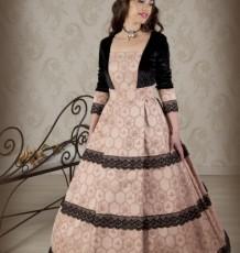Vestido Romántico Señora  Ref.2528