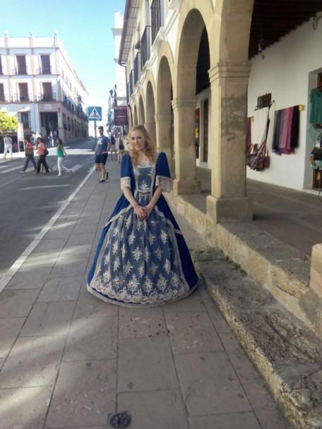 Vestuario de Carmen Astete
