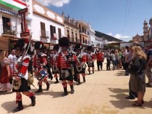 Recreacion 2 de  Mayo de Algodonales, Cádiz