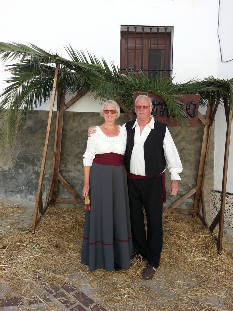 """Trajes de Época Carmen Astete, en la """"Batalla de la Puente, Montejaque. 19 y 20-Octubre-2013"""""""