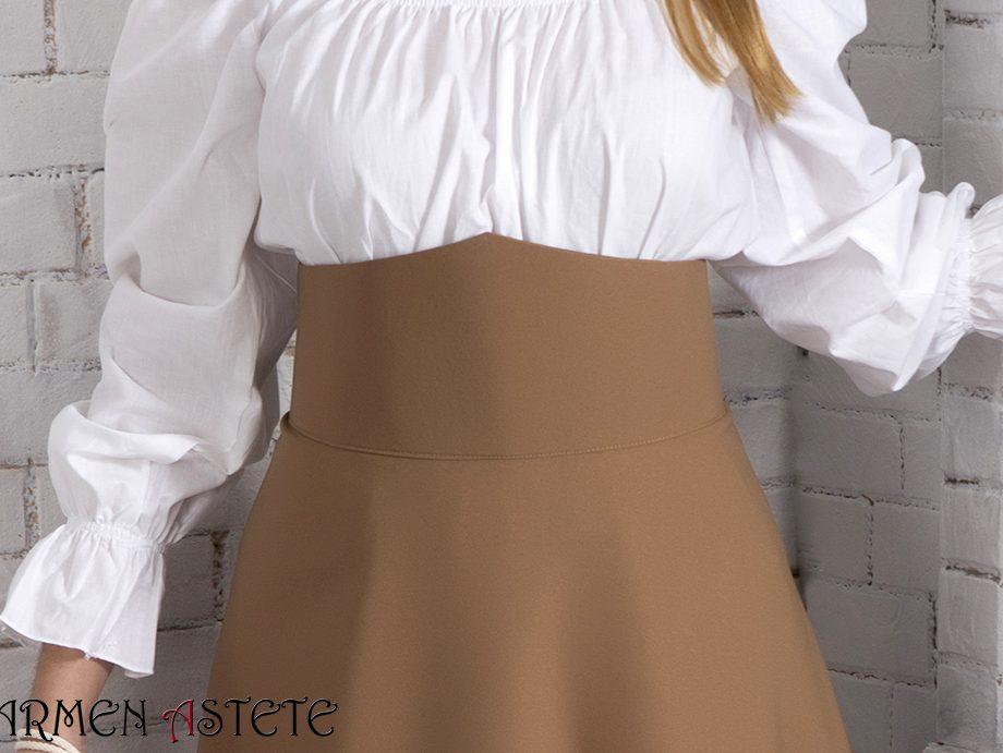 Falda básica I Camel