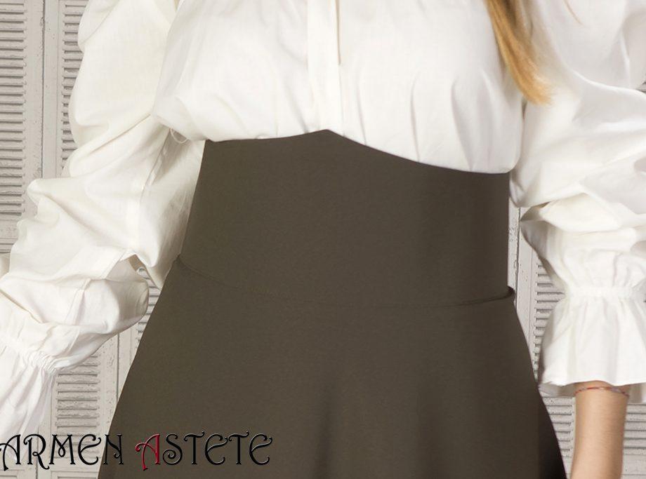 Falda básica I Caqui
