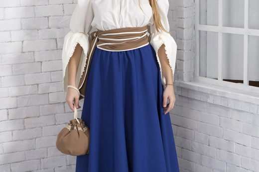 Falda básica II Azulón